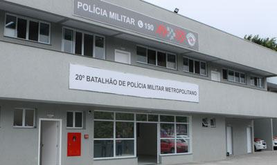 Entrega do 20º Batalhão de Polícia Militar Metropolitano