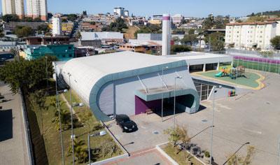 Reforma no Centro de Integração João Ricardo Pelucio Rosa (Joãozinho) - Engenho Novo - Barueri